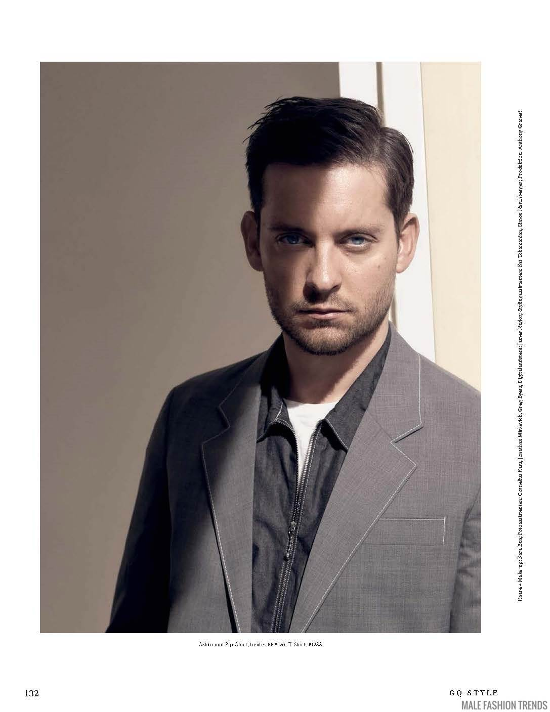 Tobey Maguire para GQ Style Alemania Spring/Summer 2016 ...