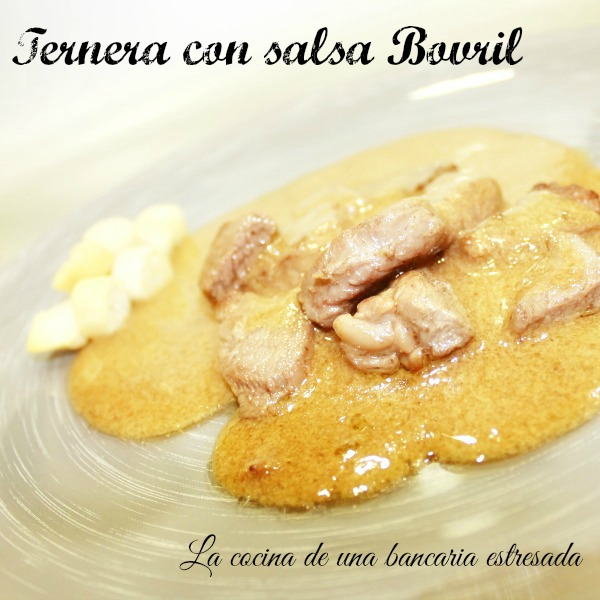Receta de ternera con salsa Bovril