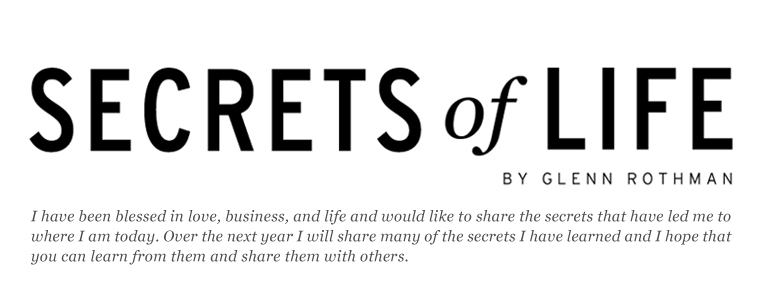 Secrets Of Life by Glenn Rothman