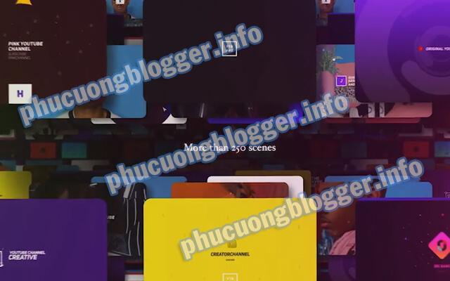 Chia sẻ 3 bộ hiệu ứng đẹp có phí trên VideoHive