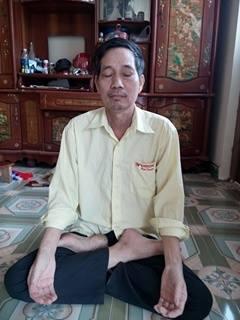 Ông Nguyễn Tiến Phương may mắn thoát bệnh nhờ thiền trường sinh học.