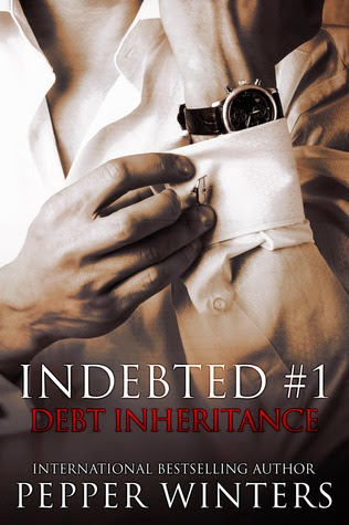 Debt Inheritance (Indebted #1) by Pepper Winters Book Cover