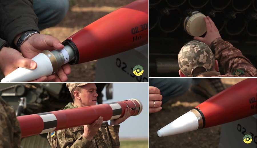 ЗСУ випробовують нові реактивні снаряди Тайфун-1