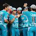 BBL Brisbane Heat 2018-19 Team Squad - Jersey Color Images Photos