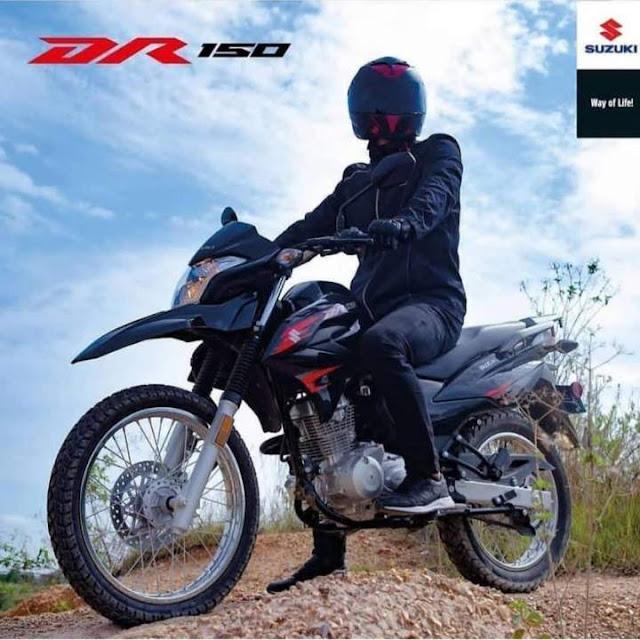 Suzuki DR150 Columbia 2019