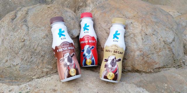 Keunggulan KIN Fresh Milk, Susu Berkelas dari Sapi Teratas