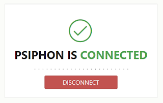 Psiphon connected