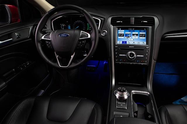 Novo Fusion 2017 - interior - painel