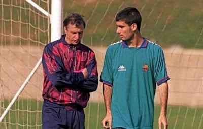 Cuộc đời Guardiola đã được cố huyền thoại Cruyff cứu vớt