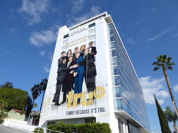 Giant TruTV New Year 2017 billboard