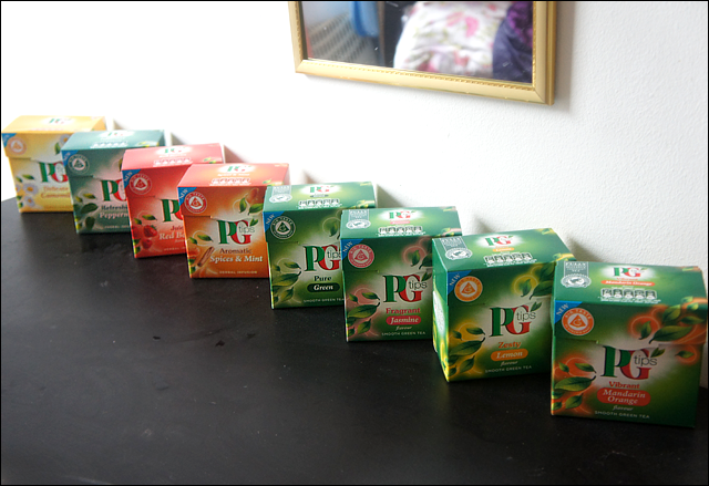 PG Tips New Fruit & Herbal Infusion Range Tea