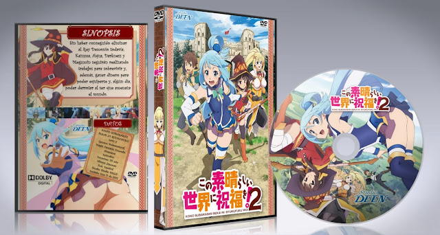 Kono Subarashii Sekai ni Shukufuku wo! 2   Cover DVD  