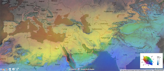 HD Decor Images » Maps Mania  The Perfect Weather Maps Maps showing the average temperature of different locations for different  times of the year can be quite handy  However you might also want to check  out how