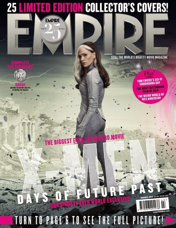 Empire covers X-Men: Days of Future Past: Picara (Rogue)