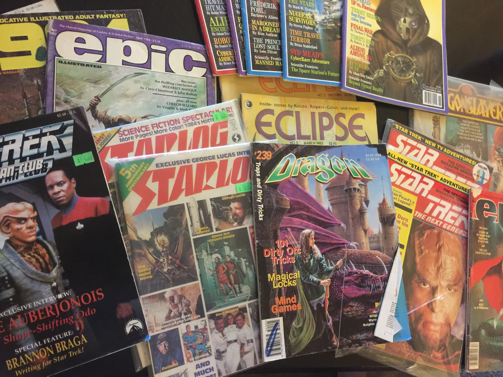 First Edition Fantasy: Science Fiction Magazine