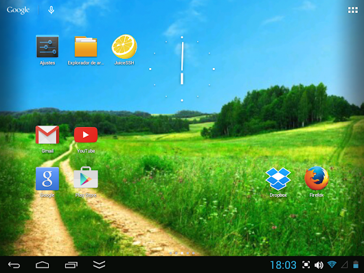 Actualizar tablets chinas (WM8850) a Android 4.1.1