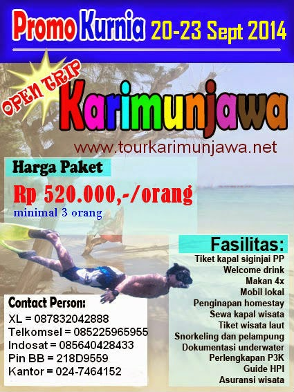 karimunjawa murah september