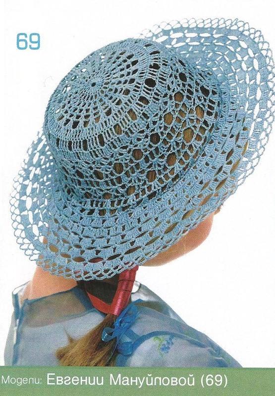 a674675503805 TRICO y CROCHET-madona-mía  Sombreros a Crochet con esquema