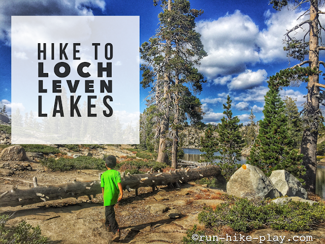 Hike to Loch Leven Lakes