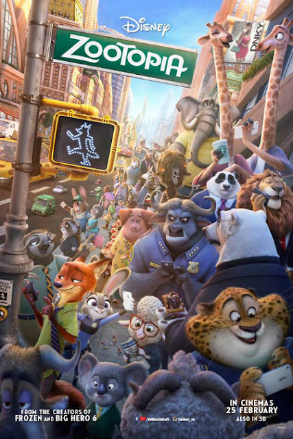 Zootopia Filem Animasi Terbaru Walt Disney Pictures