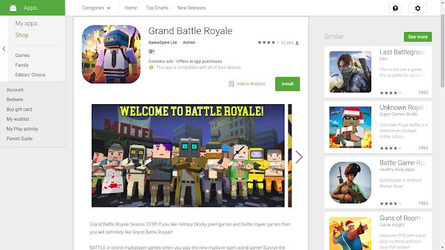 Grand Battle Royale