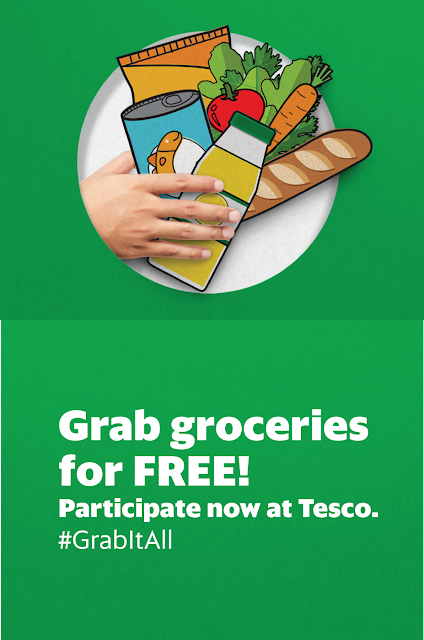 Grab Free Grocery with Tesco Malaysia