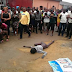 Flying bird allegedly turns into a human being in Port Harcourt (PHOTOS)
