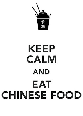 Keep Calm And Eat Chinese Food