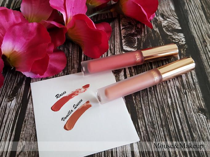 Nabla Dreamy Matte Liquid Lipstick Roses Vanilla Queen