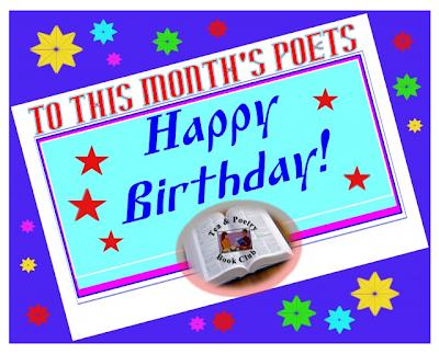October Birthdays, Tea & Poetry Book Club, Happy Birthday