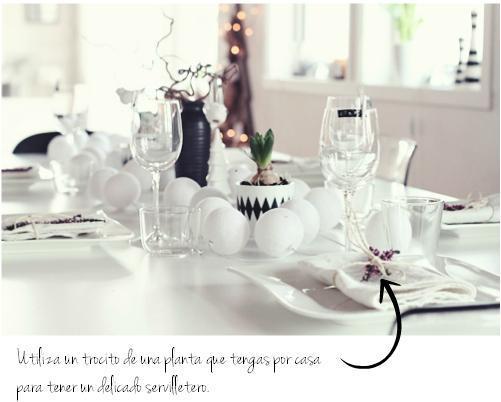 decoración mesa reyes low cost