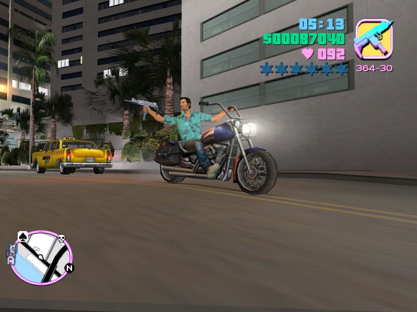 Grand Theft Auto Vice City Portable Pc  Gamer San-7010