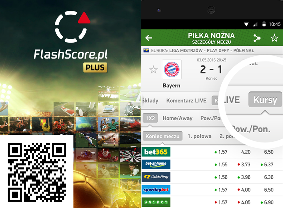 Flashscore plus apk andro ricky the full version flashscore plus includes odds overview and comparisons of online bookmakers stopboris Choice Image