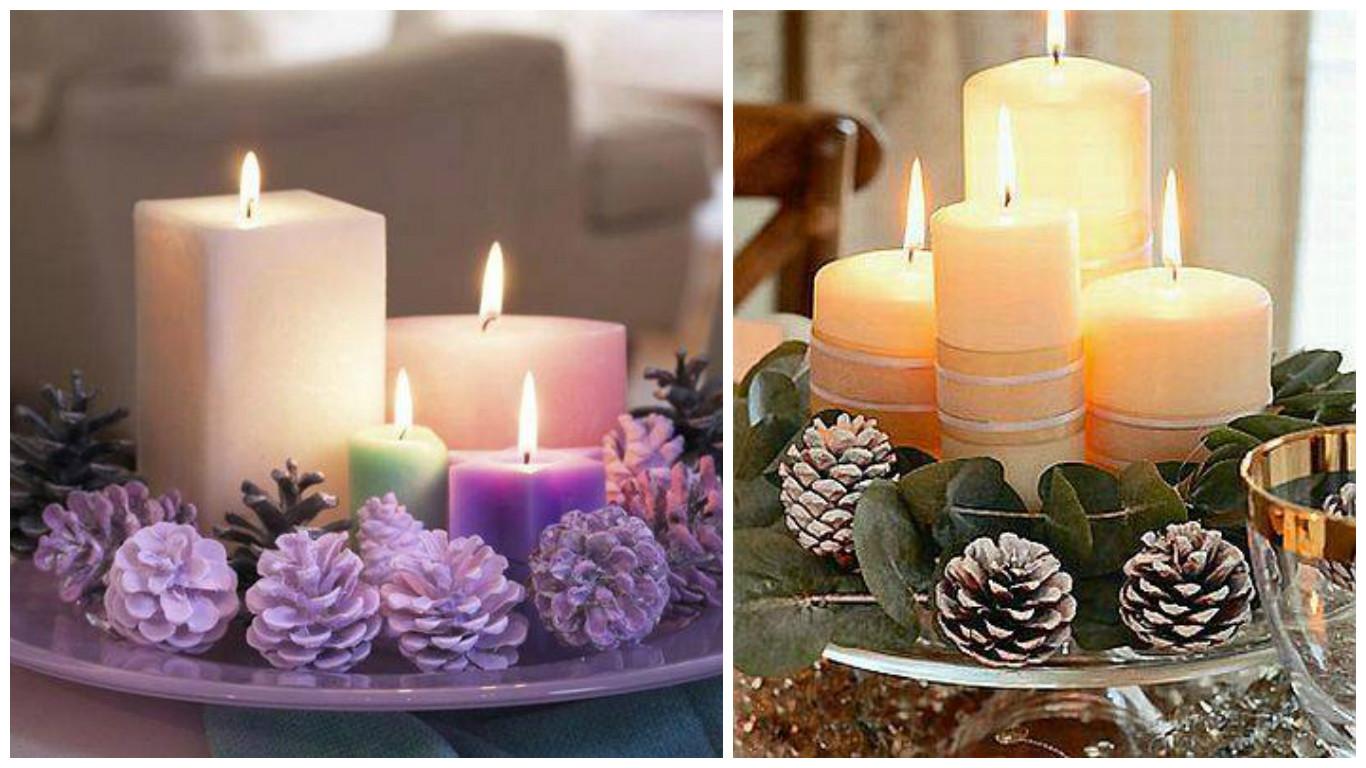 Adornos de navidad con pias best unidslote decoracin del rbol de navidad pineal pinecone regalo - Adornos navidad con pinas ...
