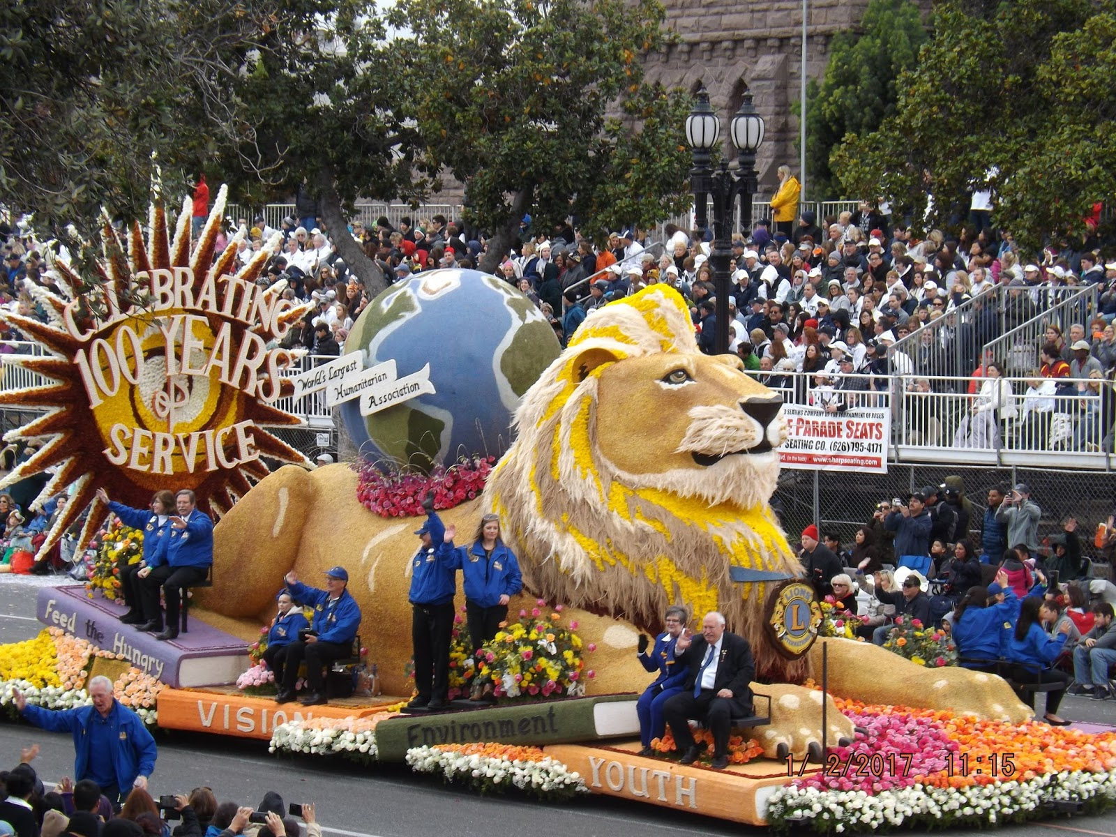 Rose Parade Floats >> Up to Speed: Rose Bowl Parade 2017 Floats
