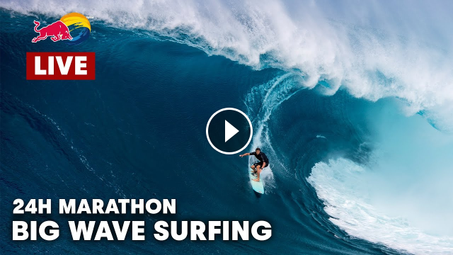 24hrs of Big Wave Carnage - Red Bull Surfing
