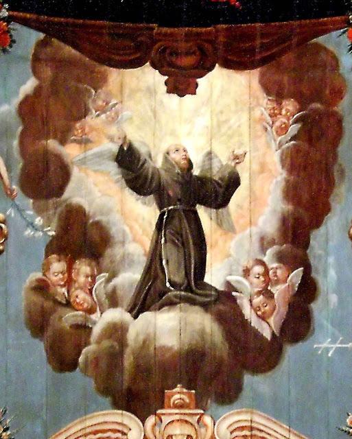 São Francisco, na igreja de São Francisco da Penitência, Rio de Janeiro.