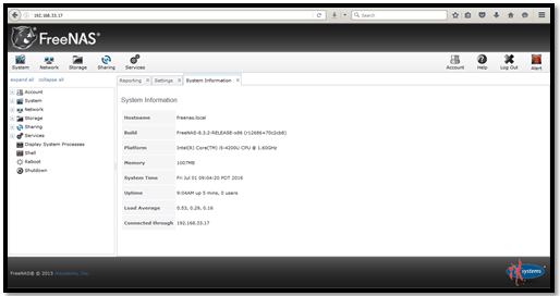 Cara Mudah Konfigurasi FreeNAS pada VirtuaBox