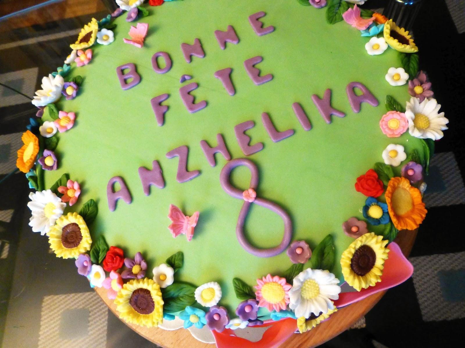 CakeSophia Flowers cake