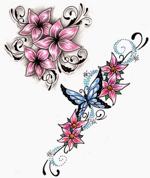 Banco De Imagenes Y Fotos Gratis Tatuajes Para Mujeres Flores Parte 5
