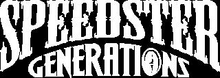SPEEDSTER GENERATIONS_ツアータイトルロゴ_白