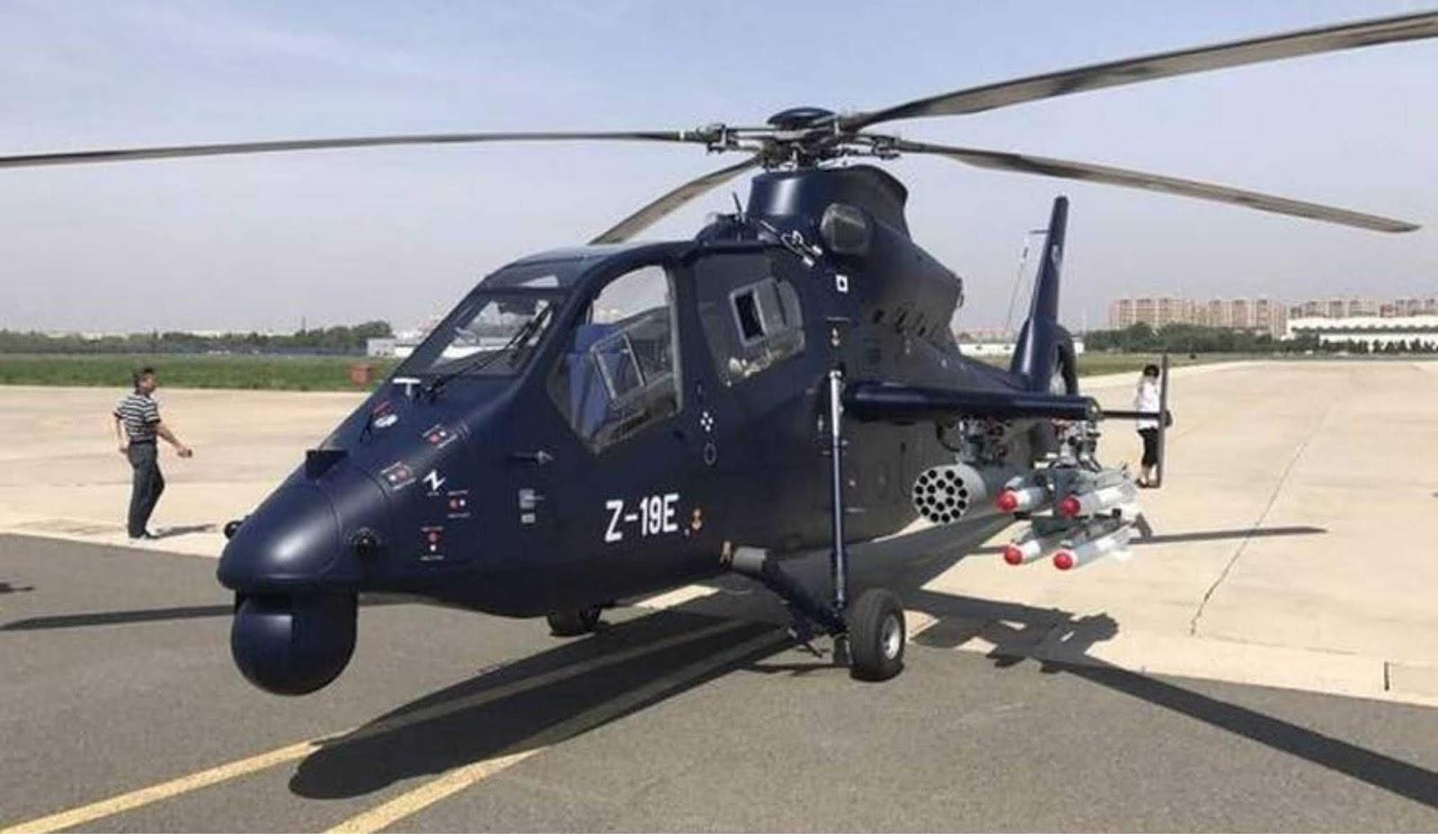 Helikopter Black Tornado Cina siap untuk produksi masal
