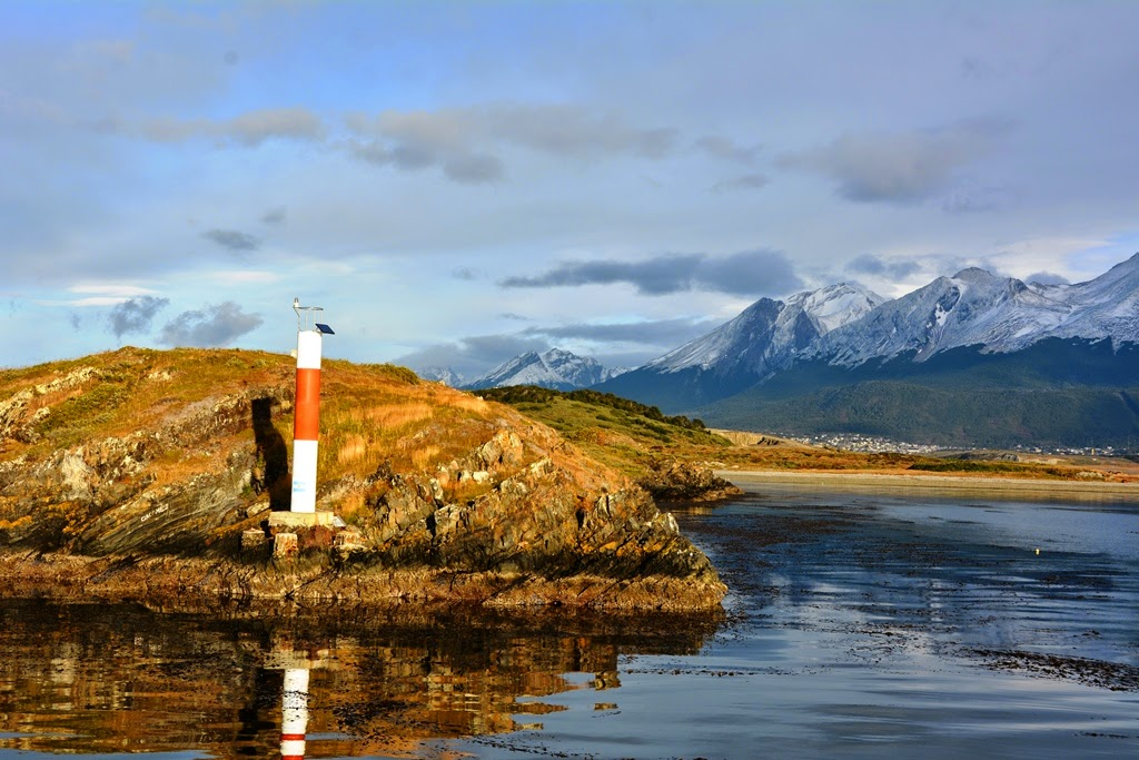 Ushuaia Beagle Canal lighthouse