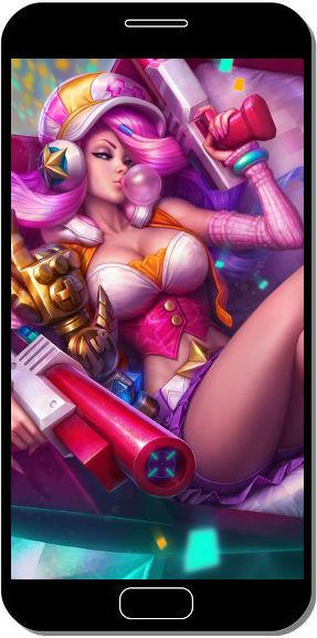 League of Legends - Miss Fortune - Fond d'Écran en QHD pour Mobile