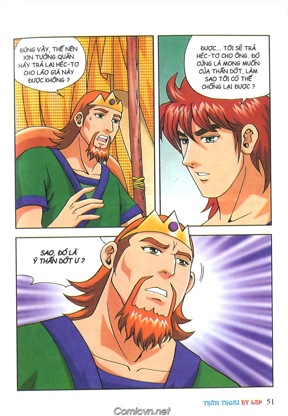 Thần Thoại Hy Lạp Màu - Chapter 63: Lão vương Pri am chuộc xác con - Pic 25