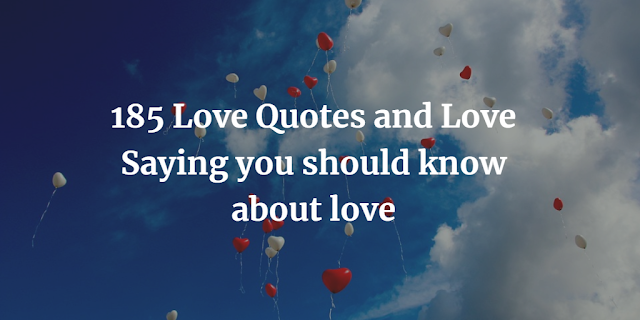 Love Quotes and Love Saying