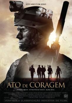 Capa do Filme Ato de Coragem