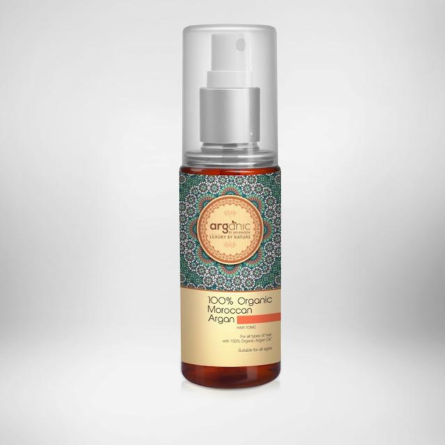 Arganic Herbals -Organic Moroccan Argan Hair Tonic - INR 450