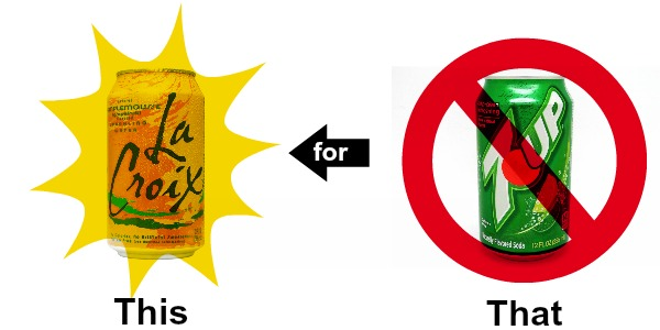 Healthy pantry swaps for soda