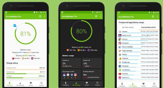 تطبيق AccuBattery يتيح لك معرفة عمر بطارية هاتف اندرويد